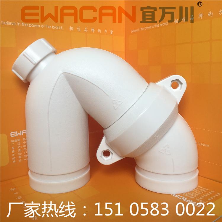 HDPEG沟槽式超静音排水管,hdpe柔性承插压盖式排水管,厂家直销示例图4