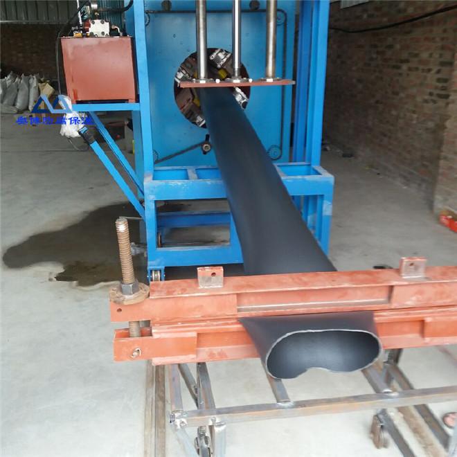 现货供应高密度聚乙烯黑黄夹克管生产加工聚氨酯直埋式保温钢管厂家直销内保温外保温钢管110*2.2示例图6