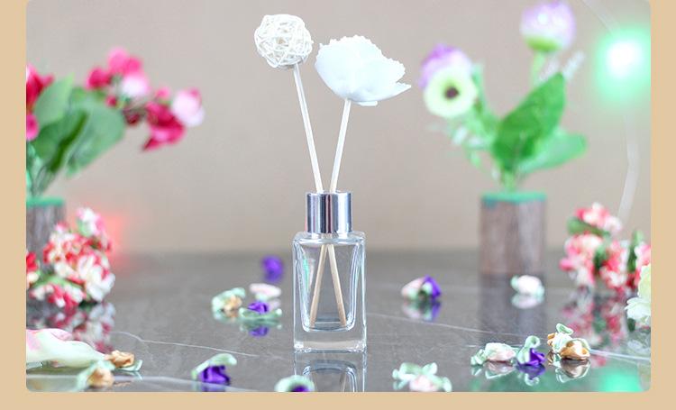 無火香薰家用瓶室內廁所散香器從小號到大號香薰玻璃長四方瓶示例圖10