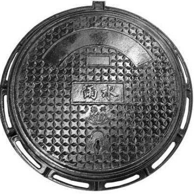 厚川建筑 铸铁井盖 订做不同规格井盖 小区专用井盖 铸铁井盖 现货供应