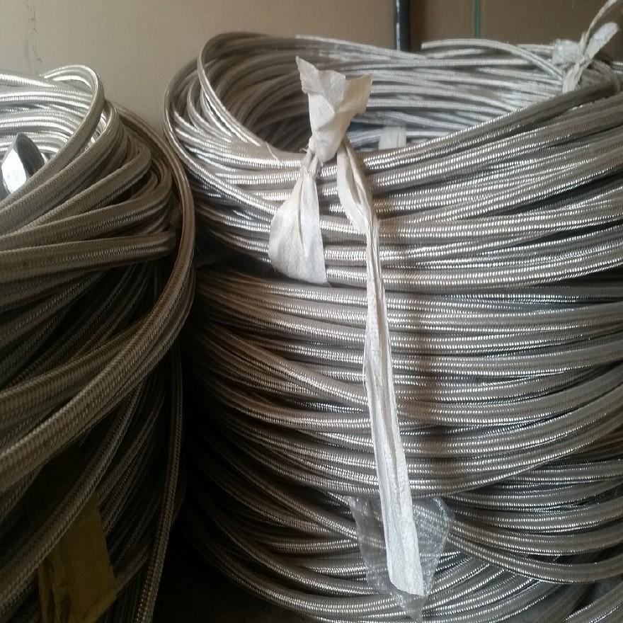 厂家直销钢编铁氟龙高温高压软管 铁氟龙高压钢编管示例图4