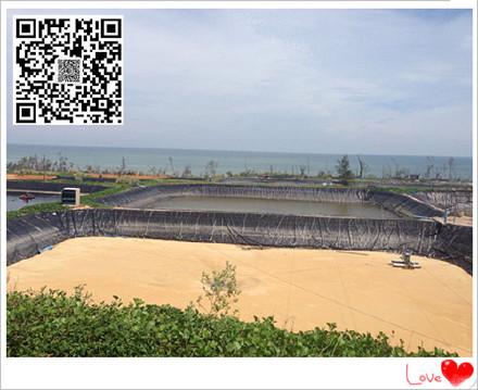江西1.5mmhdpe防渗土工膜价格黑膜沼气池建设顶膜铺设厂家优惠促销示例图6