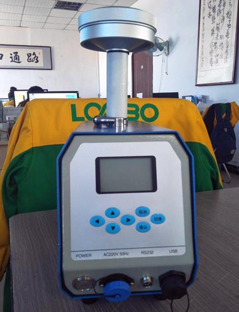 环境空气氟化物采样器LB-2070/50L流量示例图4