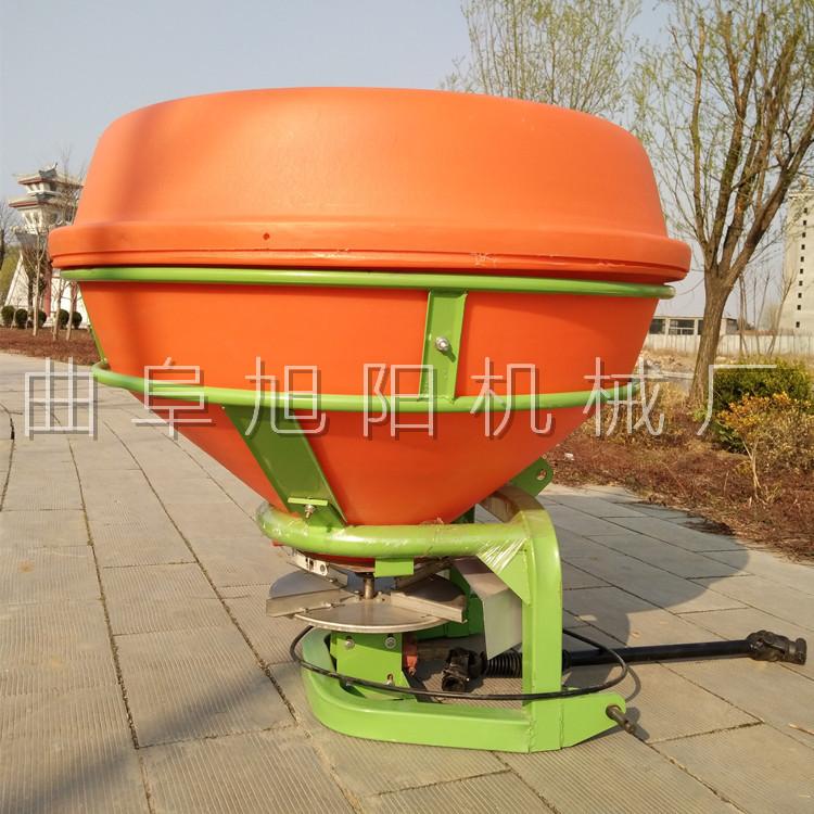 农用后置撒肥机 颗粒肥悬挂撒肥机 传动轴输出撒肥机山东直销示例图2