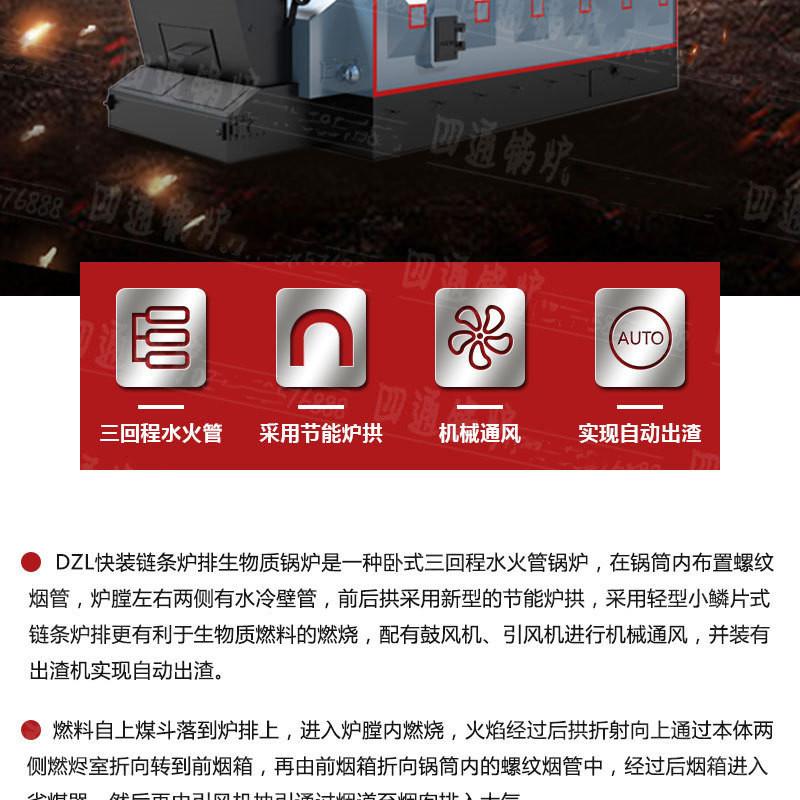 厂家直销生物质颗粒锅炉  烧秸秆锅炉  燃稻壳锅炉示例图2