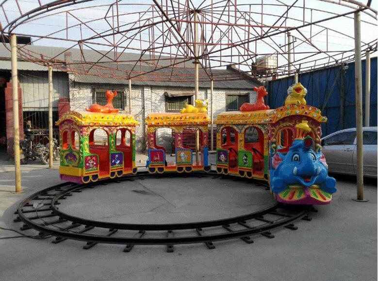 人生理想的   大象轨道火车儿童游乐设备 厂家直销 郑州大洋大象火车供应商买游乐设备来大洋生意喜洋洋示例图3