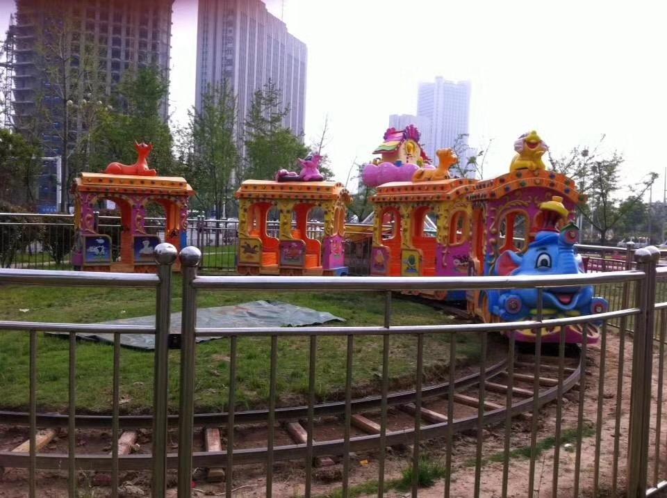 人生理想的   大象轨道火车儿童游乐设备 厂家直销 郑州大洋大象火车供应商买游乐设备来大洋生意喜洋洋示例图5