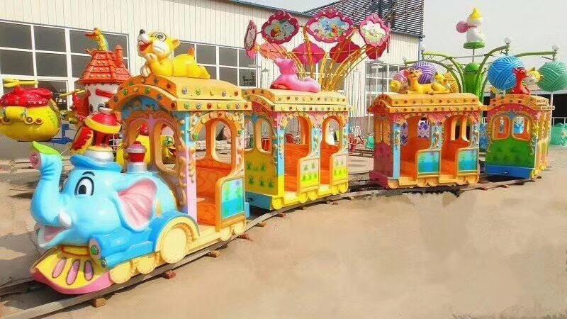 人生理想的   大象轨道火车儿童游乐设备 厂家直销 郑州大洋大象火车供应商买游乐设备来大洋生意喜洋洋示例图8