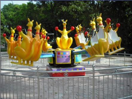 2013-2020都流行 新款 游乐 欢乐袋鼠 郑州大洋好玩的 欢乐袋鼠项目 袋鼠跳 厂家游乐设施示例图5