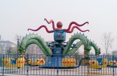 旋转大章鱼儿童游乐设备 厂家直销 旋转大章鱼大洋供应商报价示例图8