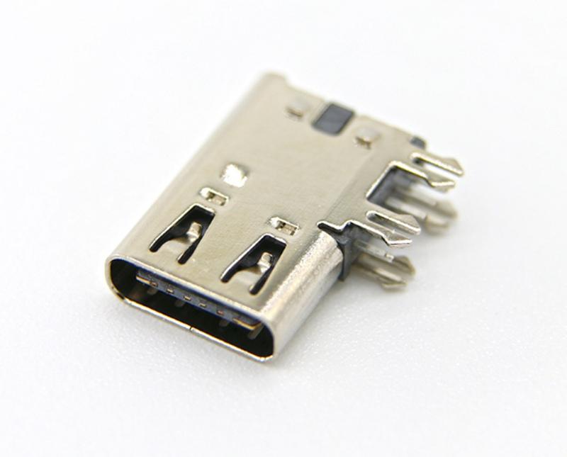 6:侧立式USB 3.1母座 侧插Type-C 6P母座 大电流.jpg
