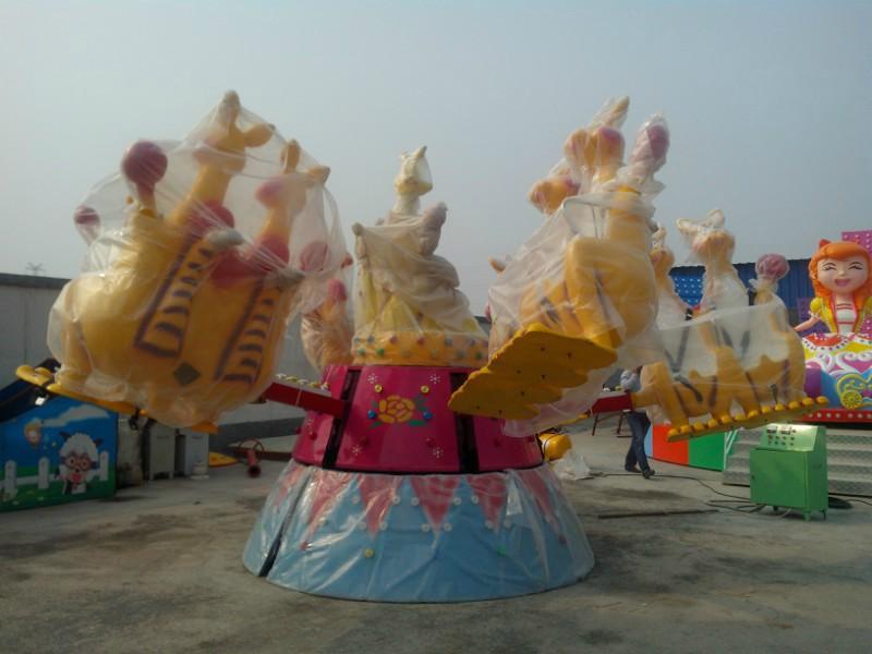 大洋现货供应公园户外游乐儿童欢乐袋鼠 疯狂弹跳8臂欢乐袋鼠项目示例图5