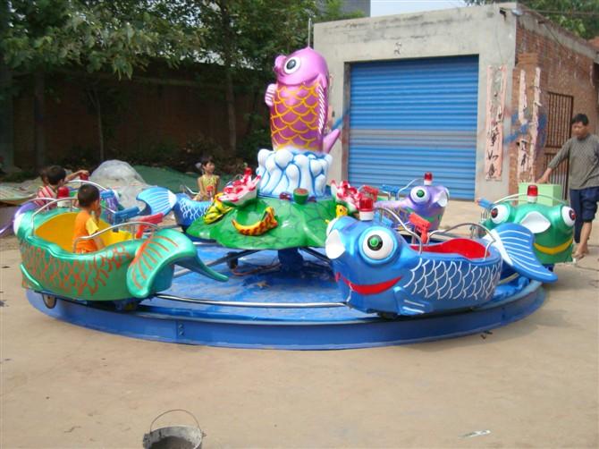 广场鲤鱼跳龙门儿童游乐设备 现货供应 郑州大洋鲤鱼跳龙门厂家示例图5
