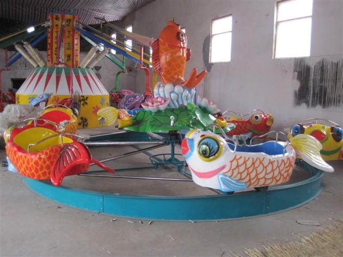 广场鲤鱼跳龙门儿童游乐设备 现货供应 郑州顺航鲤鱼跳龙门厂家示例图6