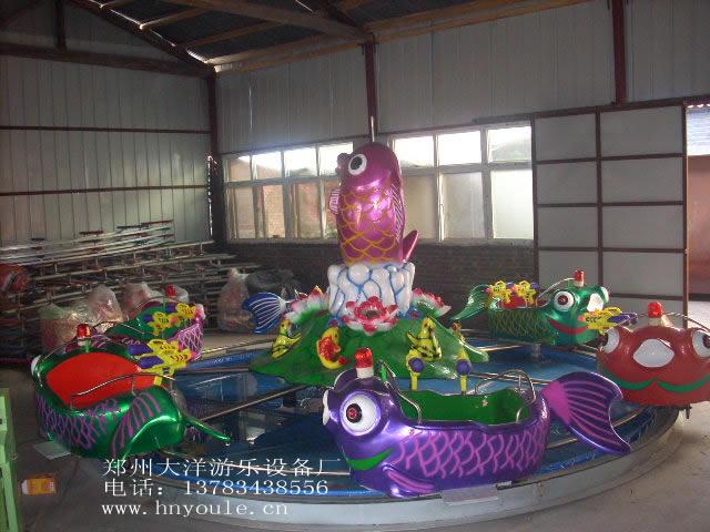 广场鲤鱼跳龙门儿童游乐设备 现货供应 郑州顺航鲤鱼跳龙门厂家示例图7