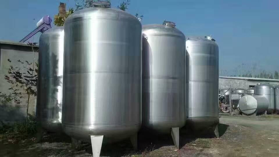 栋良回收 二手不锈钢储罐 二手储罐 九成新 安装即可使用