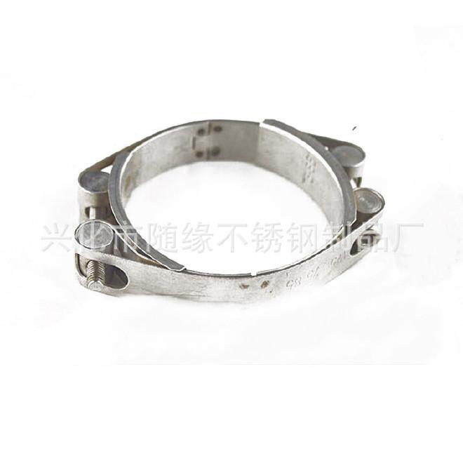 厂家生产不锈钢强力箍12mm美式304不锈钢喉箍 固定卡箍抱箍规格齐示例图7