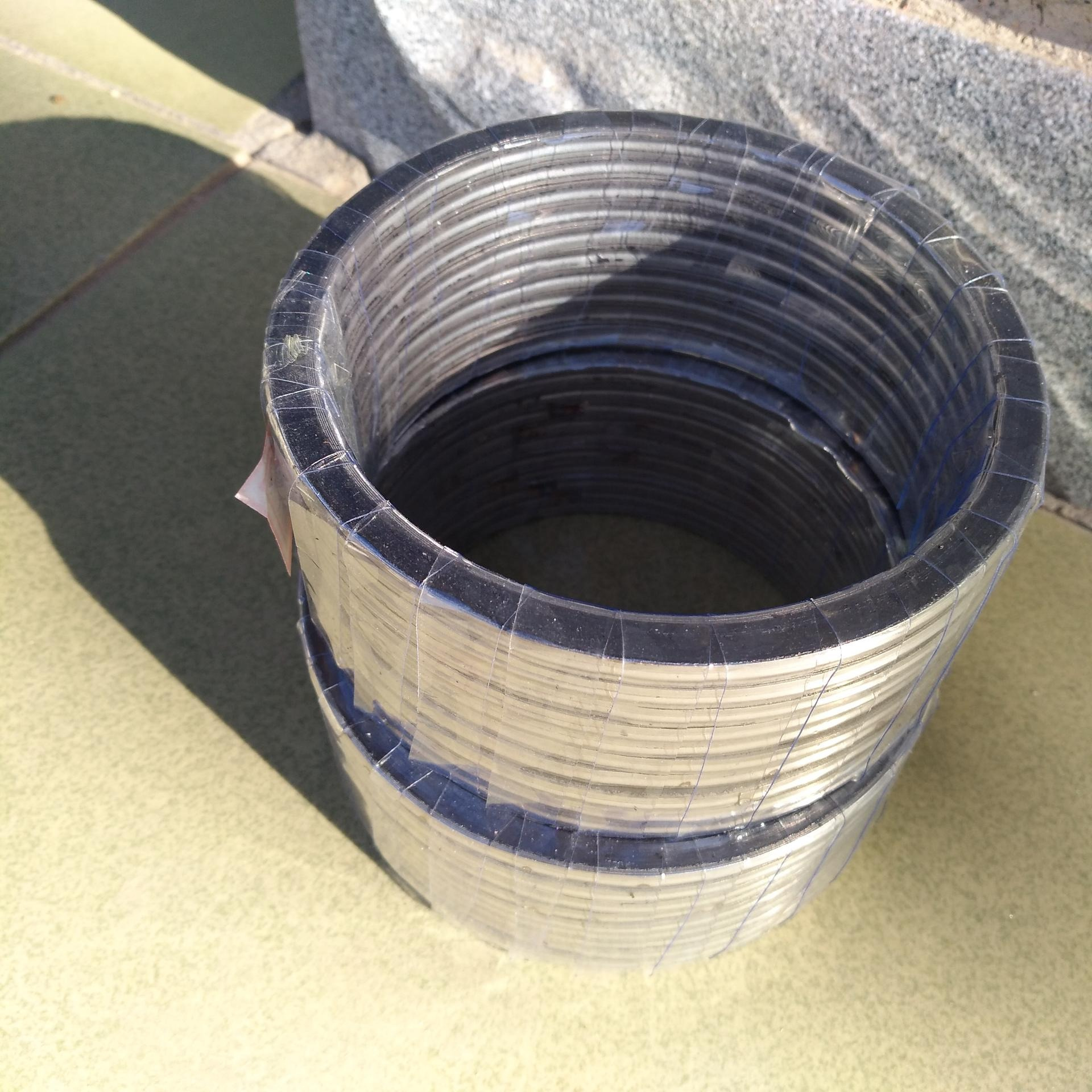艾驰迪缠绕垫片_金属缠绕垫 _ 石墨垫片 _各规格定制304金属缠绕垫片规格齐全非标可订制
