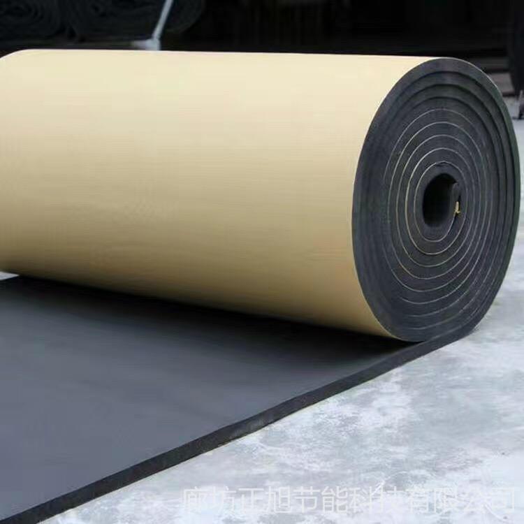 厂家供应b1级橡塑板 批发优质阳光房隔音隔热保温板 彩钢房顶防晒隔热铝箔橡塑保温板