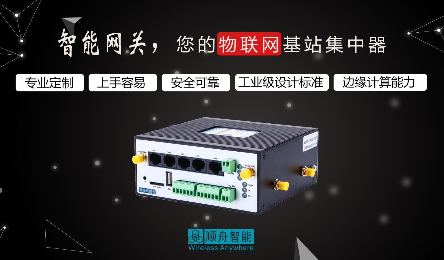 电力能源管理通讯管理机 电力自动化系统智能网关 4路WAN口通讯示例图2