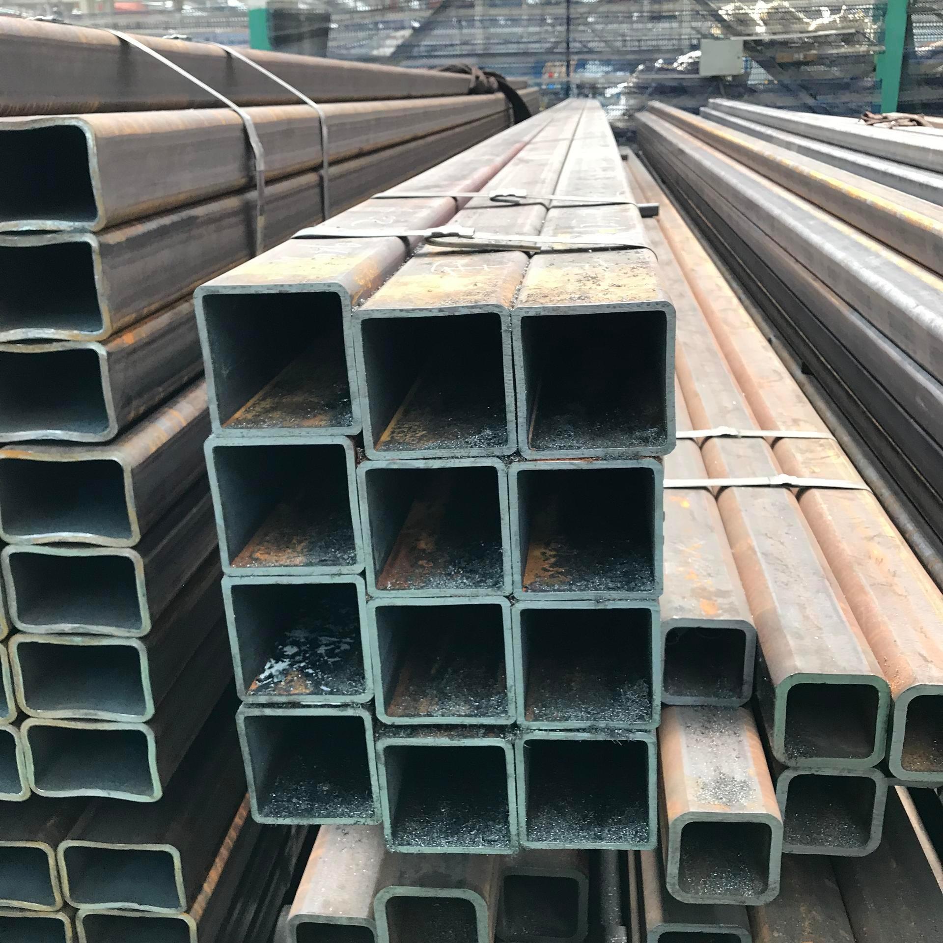 山東無縫方管廠家 Q345B結構用無縫方管 大口徑無縫方管 價格優惠