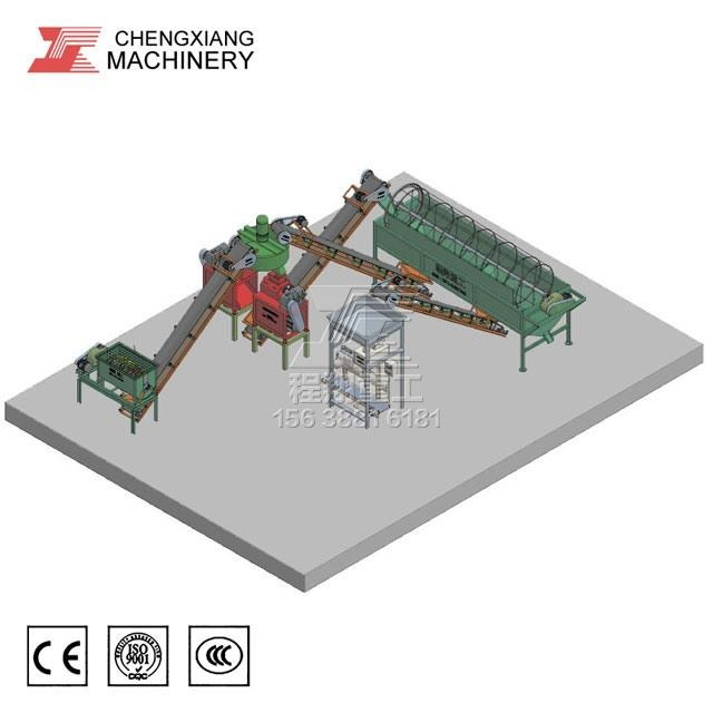 NPK肥料生产线设备:cxzg直销年产三万吨复合肥生产线设备