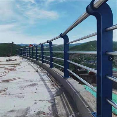 不銹鋼護欄欄桿 不銹鋼橋梁護欄 河道不銹鋼防護欄 橋梁河道護欄精工制造生產