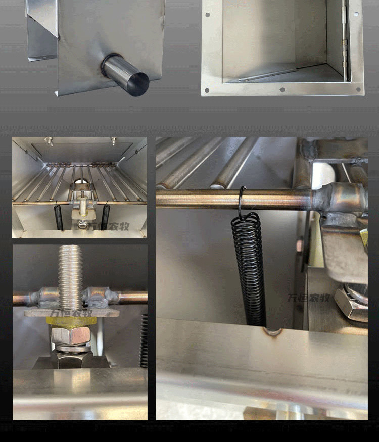 全自动喂料设备养殖场专用料穴养殖输送系统示例图8