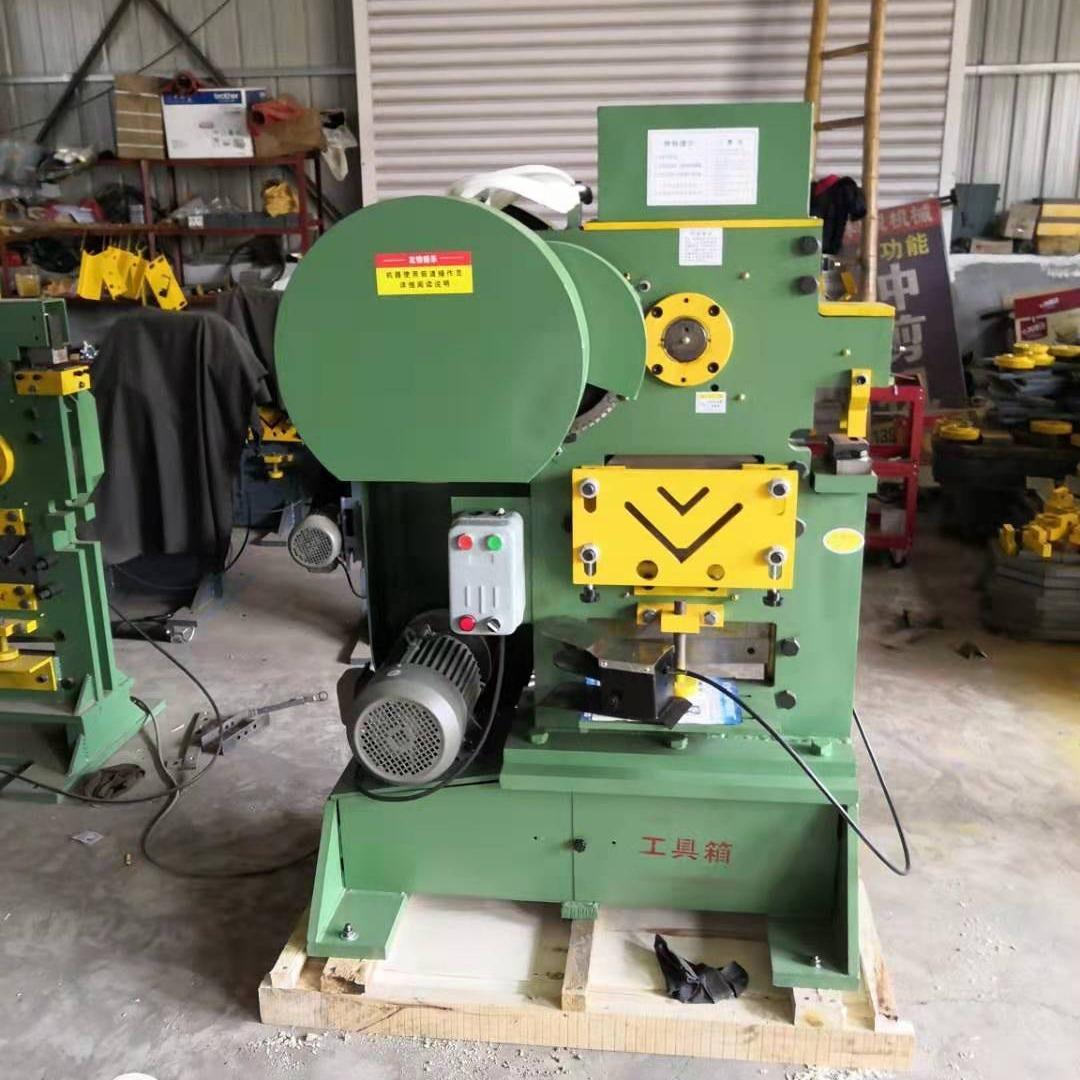 科銳鋼構角鋼沖剪機 支架角鐵沖剪機 QA35-12鐵塔角鋼剪切沖孔機