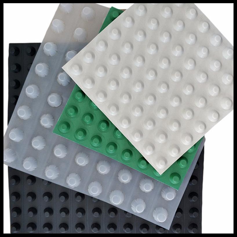 百順通 臨沂塑料排水板批發 車庫塑料排水板 凹凸塑料排水板 廠家定制