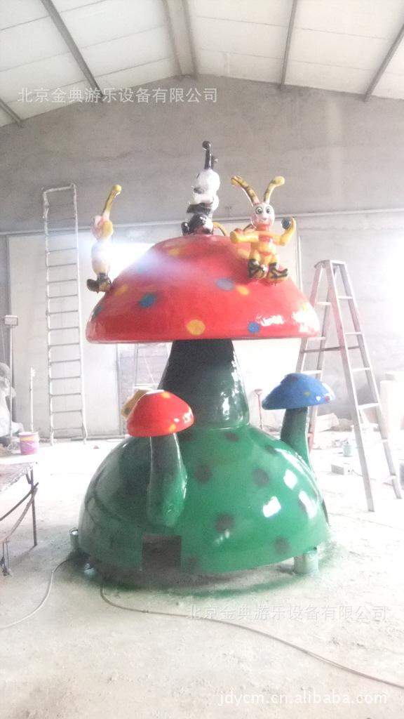 第2代蘑菇转盘 游乐设备 游艺机 游乐设施 北京游乐设备示例图13