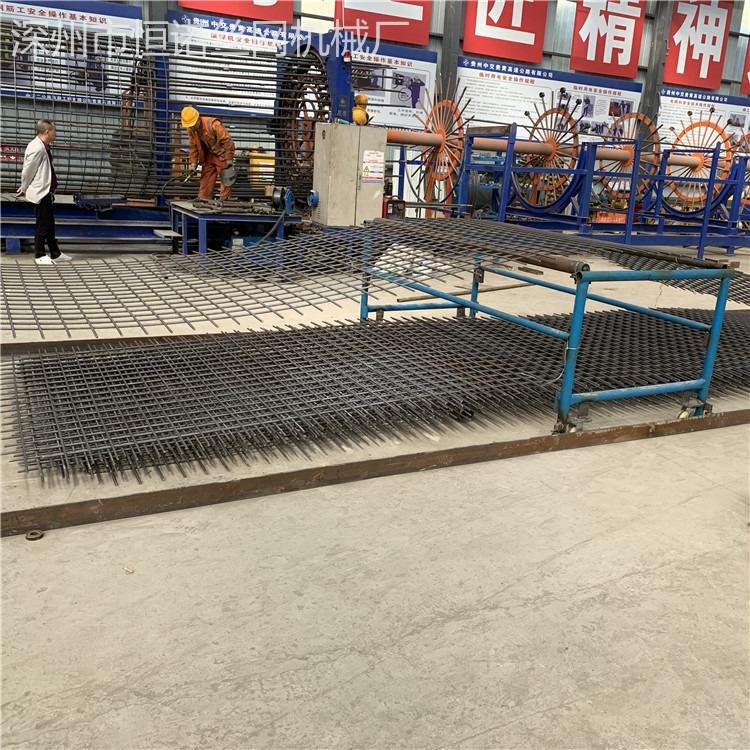 恒诺气动送径丝焊网机      大型建筑网焊网机   大型网片焊网机