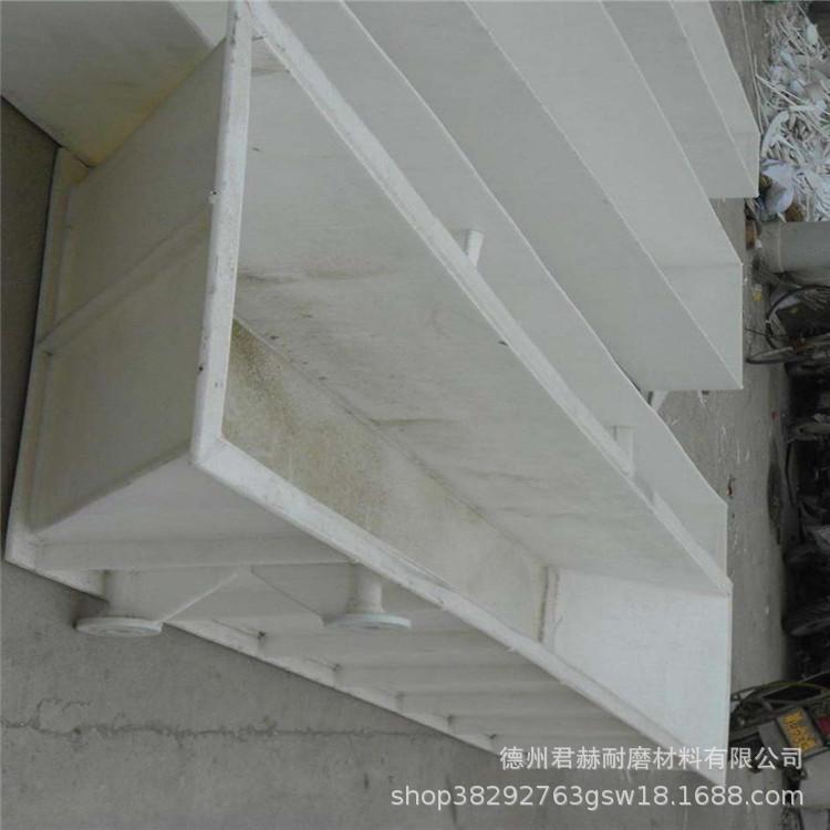 加工pp板材 塑料板定做水箱 焊接 冷却循环水箱 酸洗槽批发示例图2