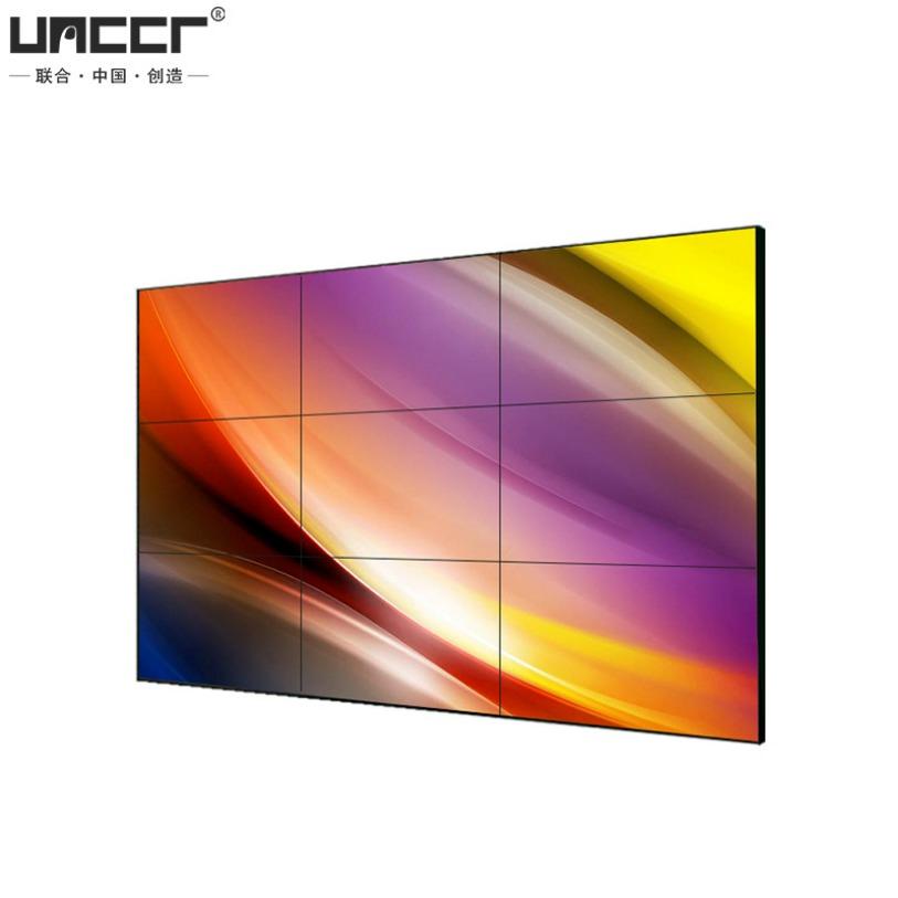 UNCCR40/46/49/55寸液晶拼接屏電視墻無縫大屏幕led監控顯示器