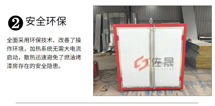 廠家銷售環保高溫烤漆房固化房 支持定制高溫烤漆房示例圖11