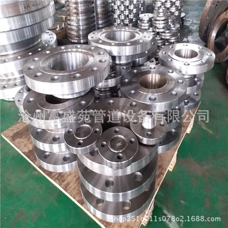 生產批發法蘭 碳鋼平焊法蘭 對焊法蘭 鍛打鑄鐵水管法蘭盤示例圖7