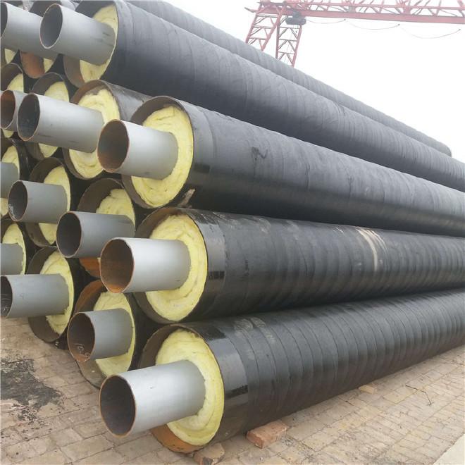 厂家直销 保温钢管 钢套钢保温钢管 定制 内保温外防腐钢管示例图6