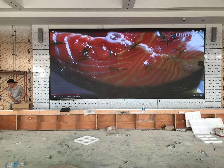 P1.8全彩led顯示屏  舞臺背景電子屏 高清節能電子屏