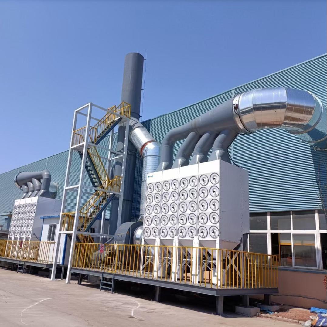 青島集中除塵設備   天納克罩吸式除塵器  除塵設備廠家