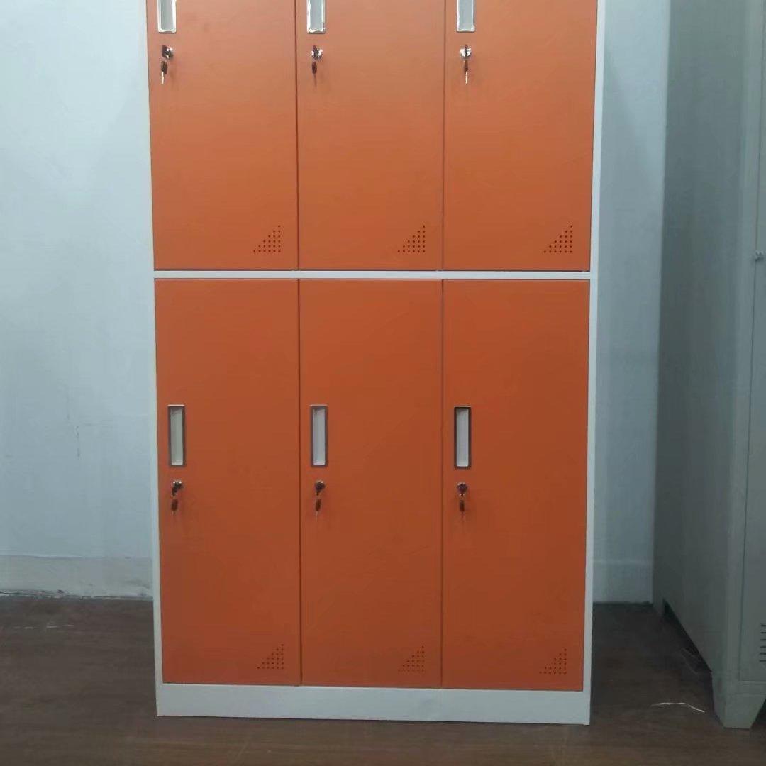 杭州廠家供應窄邊文件柜更衣柜多種顏色定制