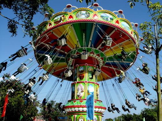 2020大洋飓风飞椅儿童游乐设备 公园旋转升降24座豪华飞椅游乐项目游艺设施厂家示例图11