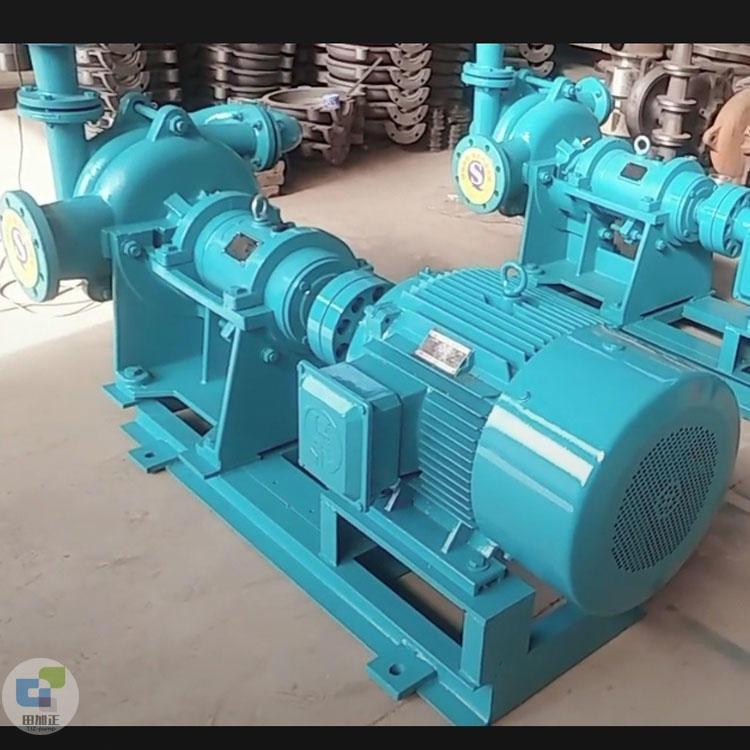 压滤机入料泵 耐酸碱渣浆泵 洗煤厂专用抽沙泥浆泵 无堵塞喂料泵 田加正
