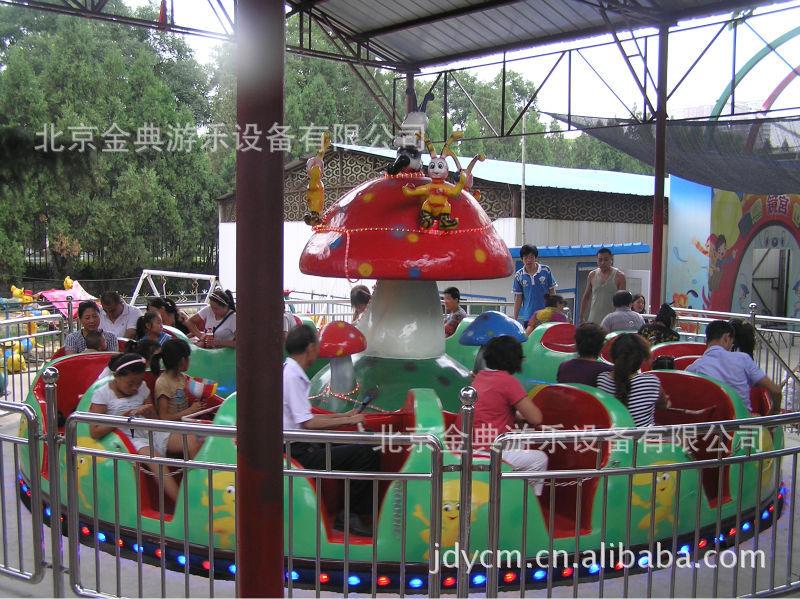 第2代蘑菇转盘 游乐设备 游艺机 游乐设施 北京游乐设备示例图9
