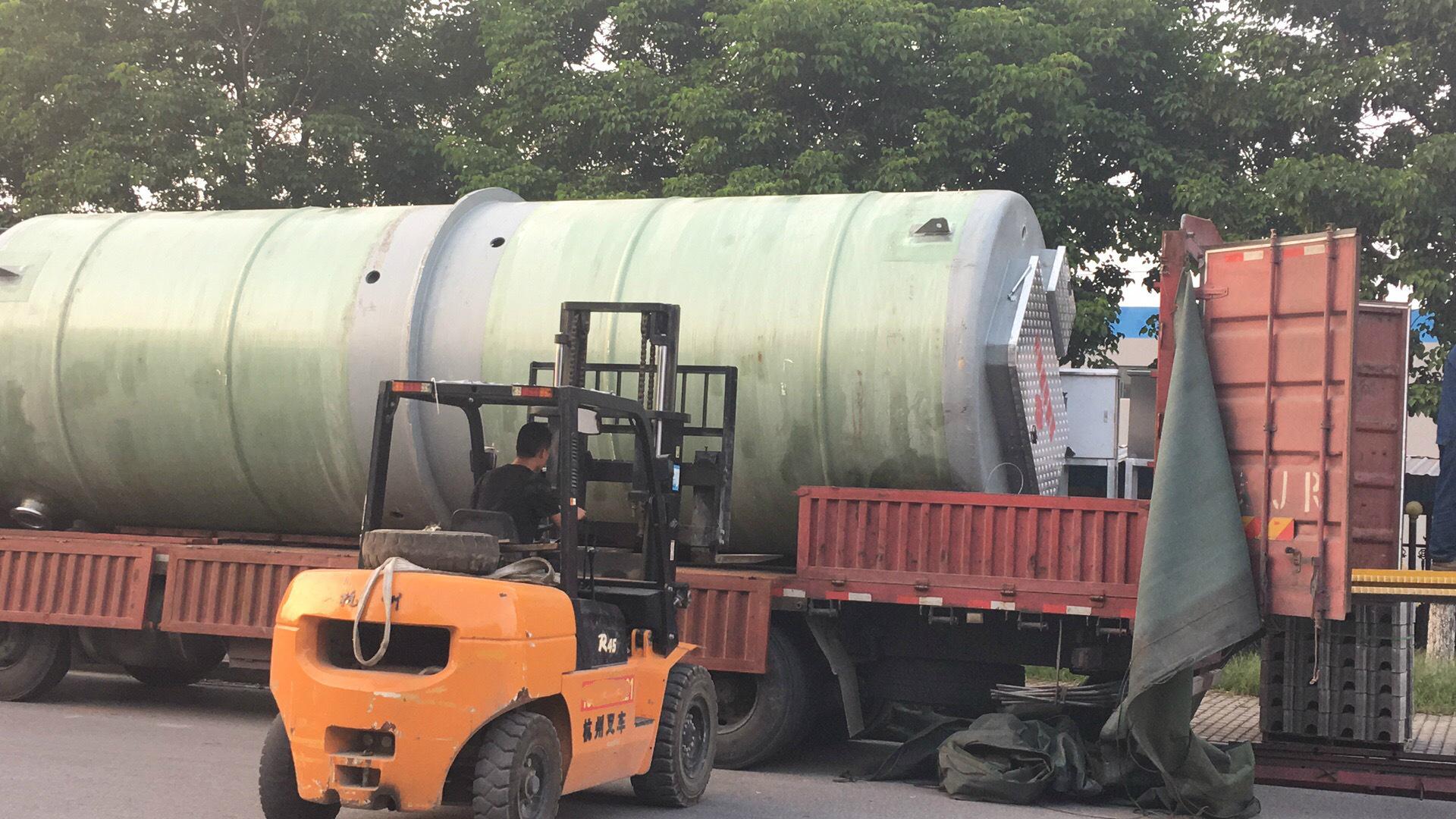 一體式預制泵站|玻璃鋼一體化泵站|污水處理成套設備廠家示例圖5