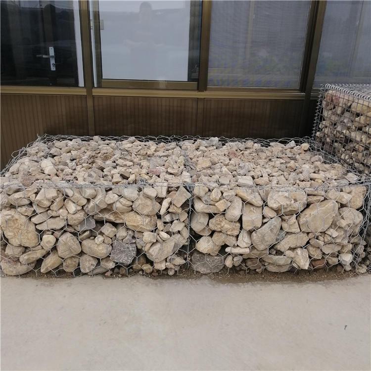 安平泰同石籠網實體廠家生產,3×1×1鋅鋁石籠網箱,格賓石籠墻,高爾凡鉛絲籠
