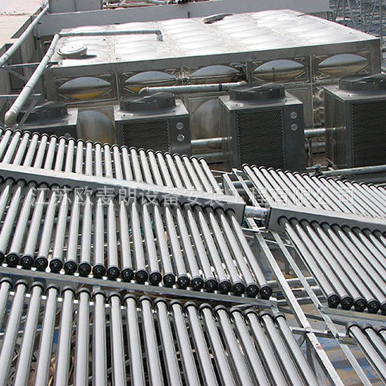 欧麦朗学校工地工厂公寓宿舍空气能热水器系统方案 空气能热泵工程报价示例图6