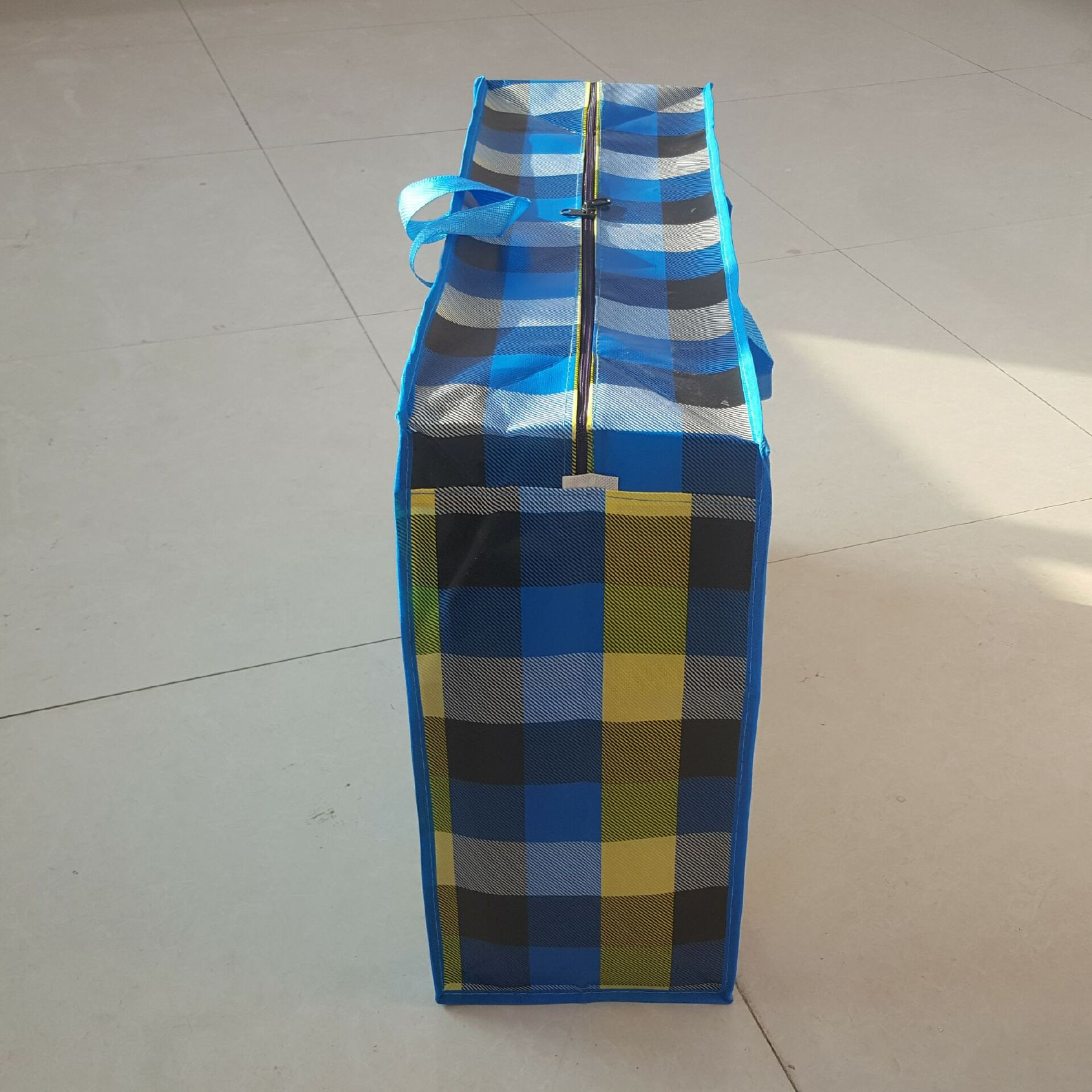 塑料薄膜彩印_【定做PP彩印覆膜防水塑料编织袋卡通搬家打包蛇皮袋子80大号