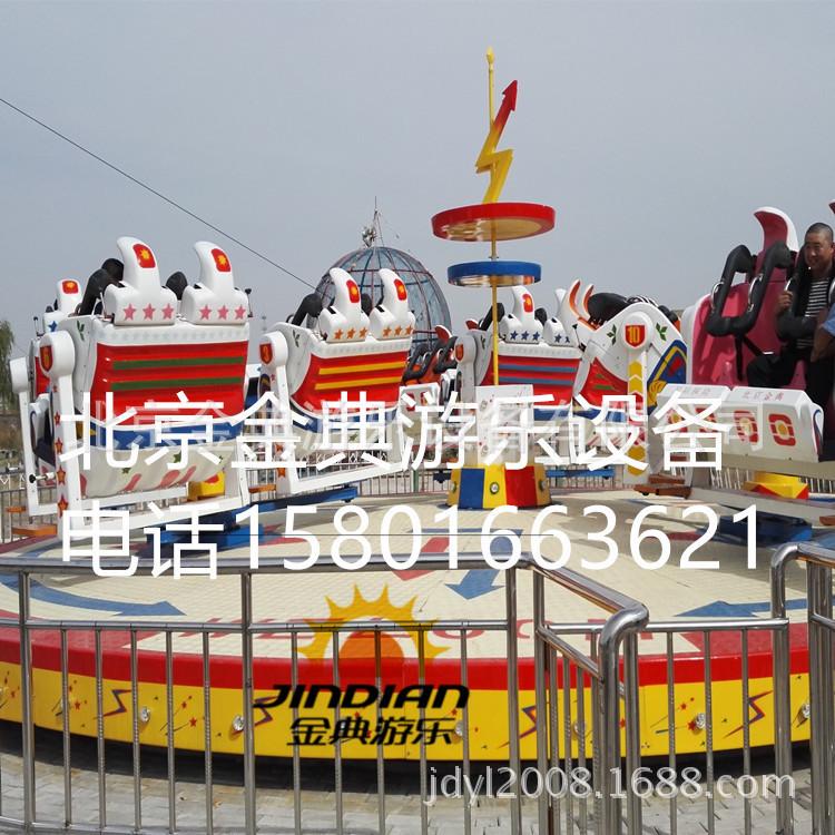 星际探险 广场游乐设备 游乐设施 霹雳翻滚 星际迷航示例图9