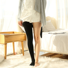 光腿加肥加大板肉色修身打底裤秋款抗起球锦纶肤色连裤袜保暖裤女示例图2