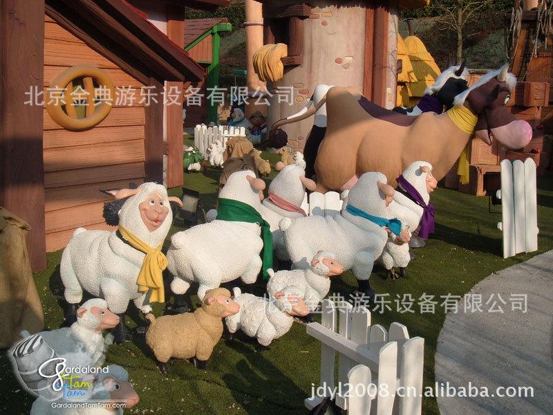 儿童游乐设备 快乐农庄示例图4